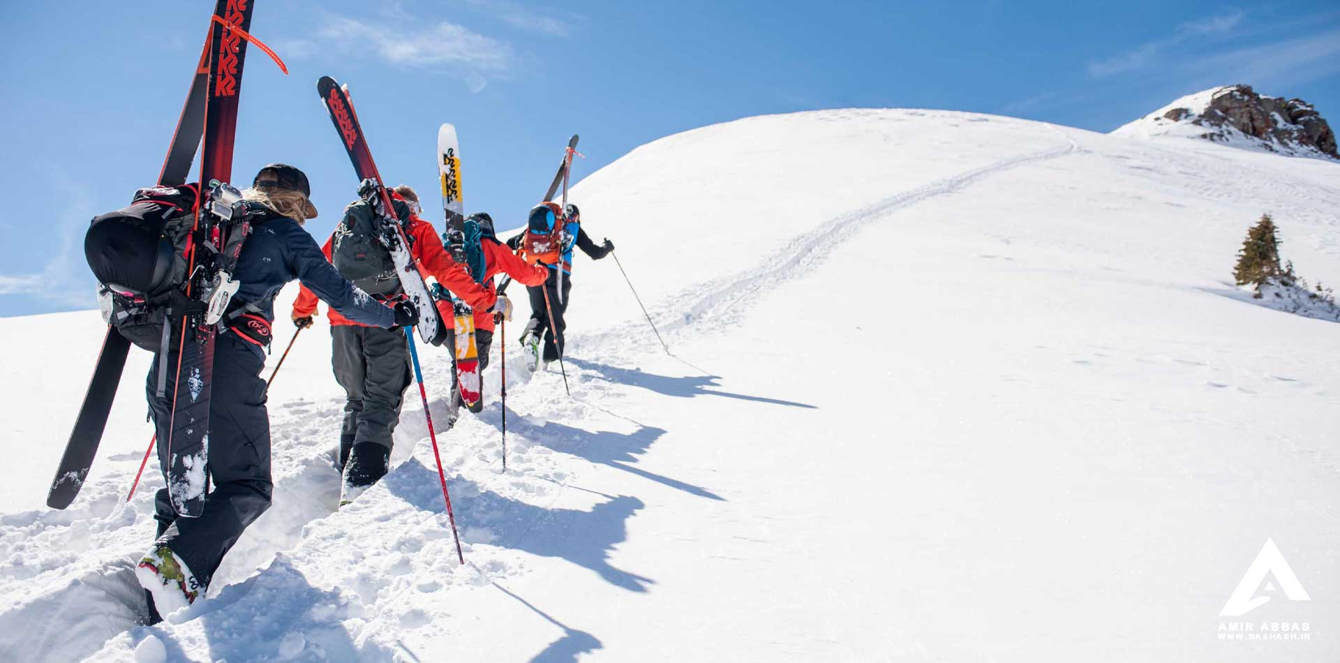Damavand Mountaineering and  Adventure Skiers