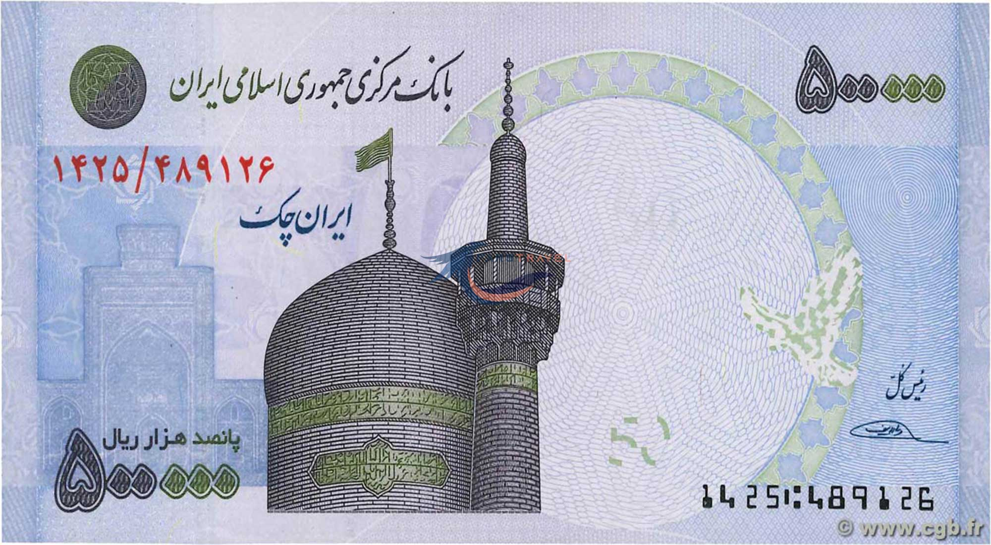 Money and Cost in Iran